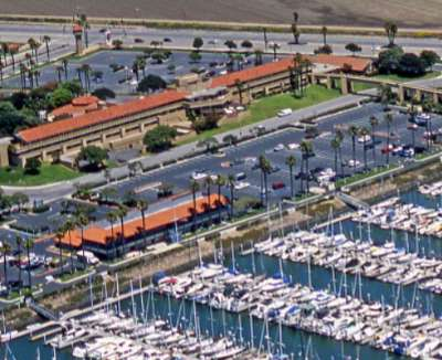 Aerial View Of Hotel & Ventura Harbor 3 of 31