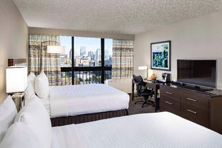 Double Beds Perfect For Families. Very Spacious Rooms Offering Aveda Amenities. 3 of 11