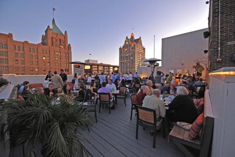 You Can Enjoy Our Exclusive Rooftop Along With Dinner Drinks And Live Music! 3 of 8