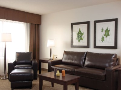 Executive One Bedroom -Living Room 3 of 11