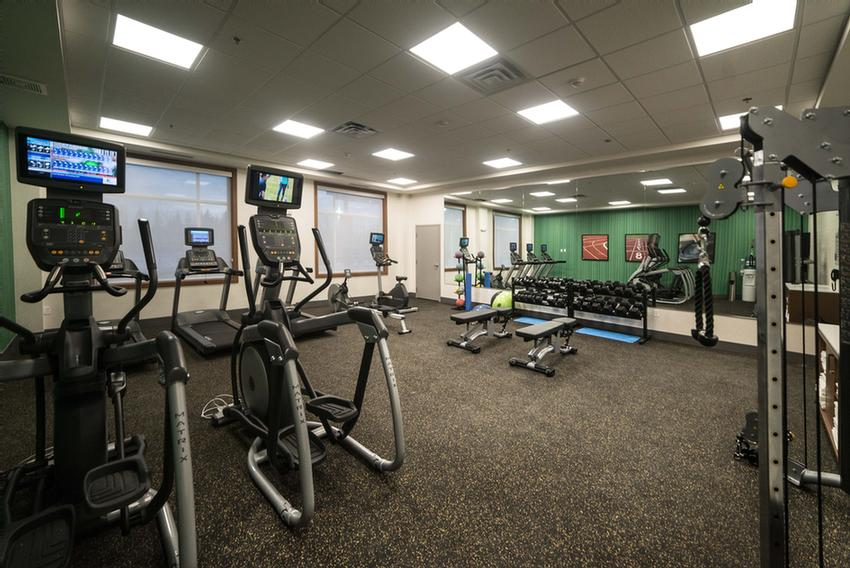 Health And Fitness An Assortment Of Cardio Equipment Including Treadmills Elipticals Stationary Bikes. Medicine Balls Free Weights And Exercise Mats Are Also Available. On-Site Fitness Center Available Extensive Offering 3 of 29