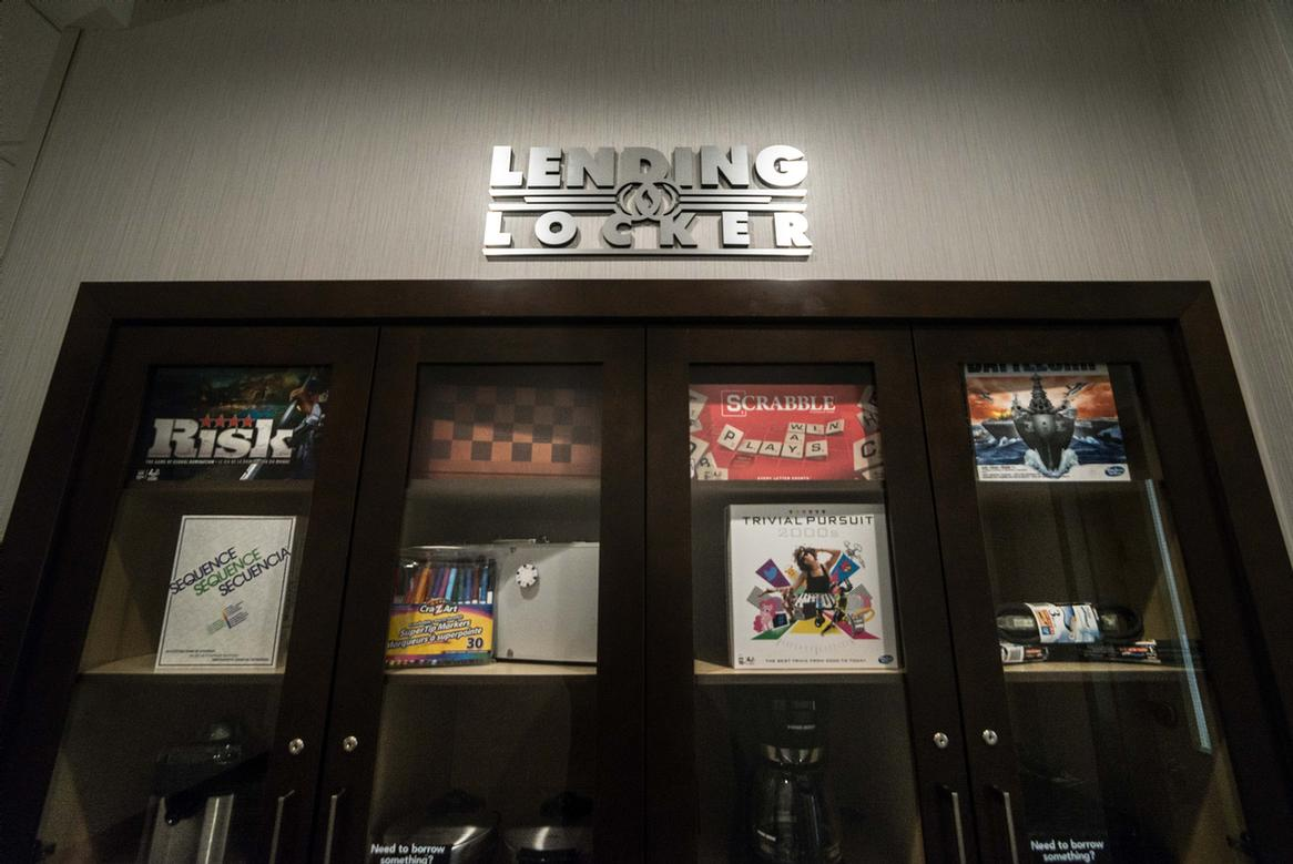 From Board Games To Blenders They\'re All Available To Borrow From Our Lending Locker. 26 of 29
