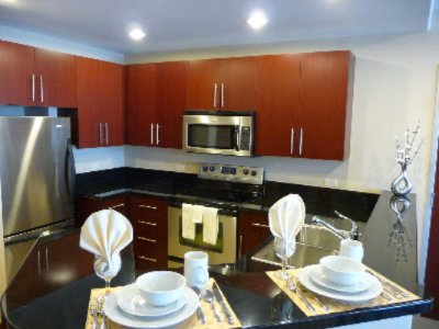 Full Kitchen With Stainless Steel Appliances 4 of 10