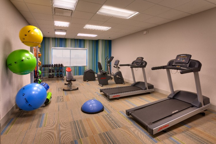 24 Hour On-Site Fitness Center 8 of 15