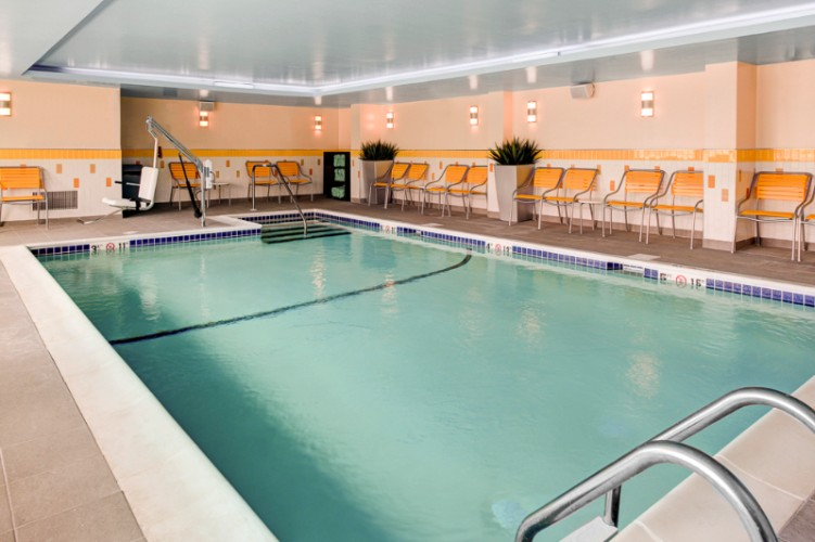 Heated Saltwater Indoor Pool 14 of 16