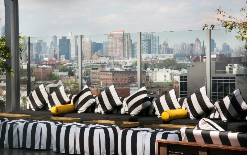 Rooftop At Mccarren Hotel & Pool With View Of New York City 12 of 12