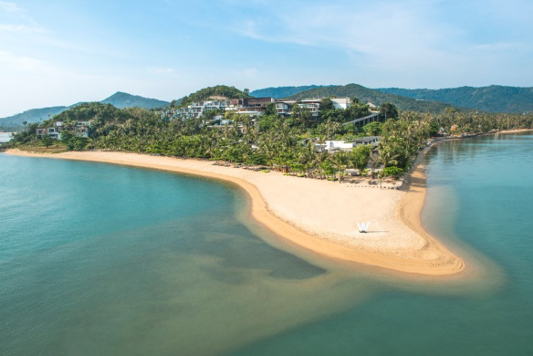 W Retreat Koh Samui -Aerial Shot 4 of 29