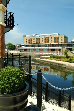 Hotel Seen From Across The Brentford Lock 2 of 10