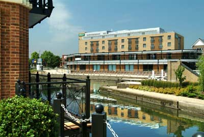 Hotel Seen From Across The Brentford Lock 3 of 10