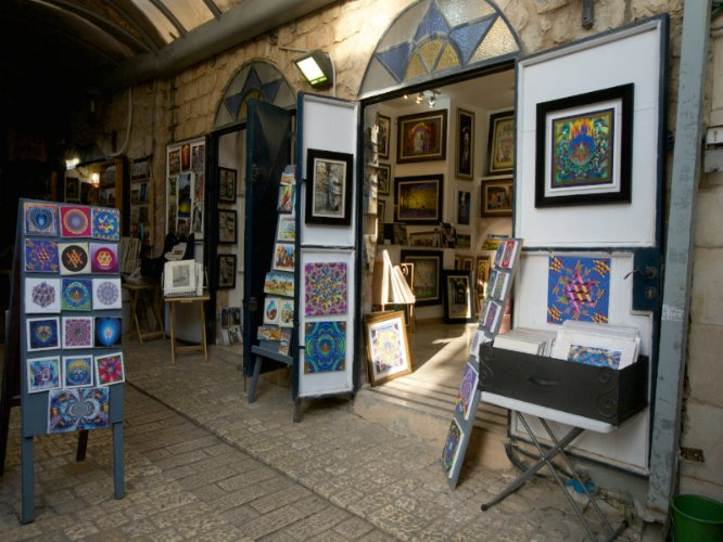 Visit Some Of Tzfat\'s Local Art Galleries. 5 of 31