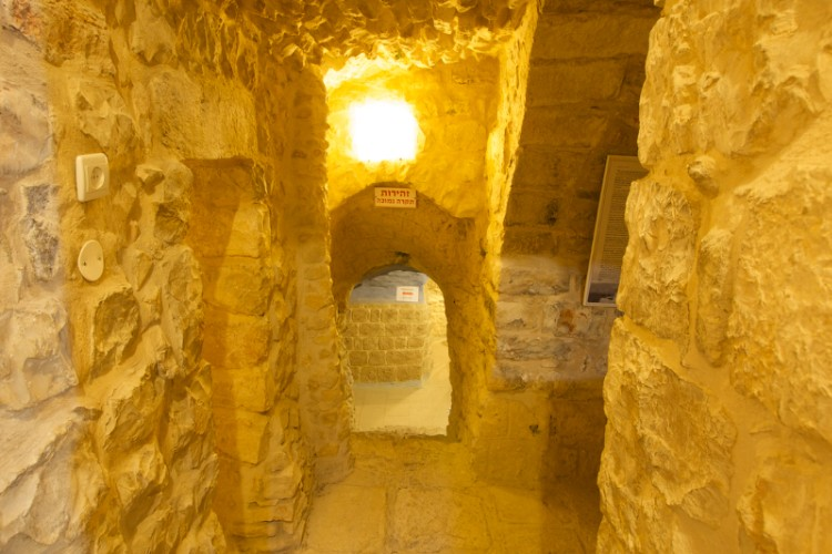 Explore Tzfat\'s 16th Century Underground Tunnels. 6 of 31