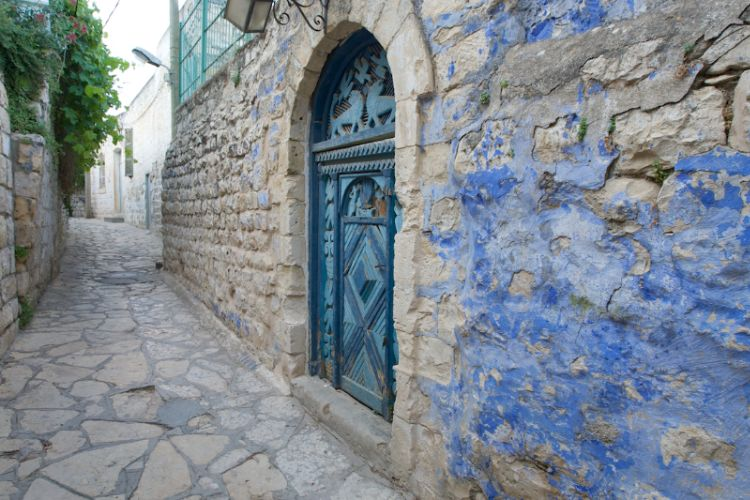Artist\'s Quarter Ancient Stone Buildings In Old City Safed 10 of 31