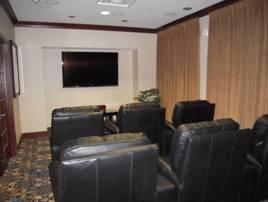 Just-Like-Home Theater Room With Leather Recliners 13 of 27