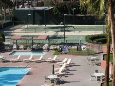 Marquis Villas Resort Tennis Courts And Pool 3 of 12