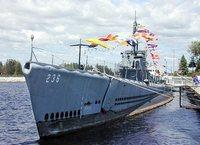 U.s.s. Silversides - One Of The Most Decorated Submarines Of Wwii ! Tours Available! 7 of 12