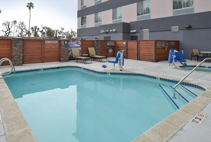 Enjoy Our Outdoor Pool 9 of 16