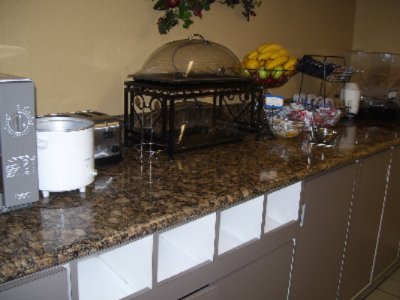 Deluxe Continental Breakfast Bar Features A Variety Of Hot And Cold Items. 7 of 7