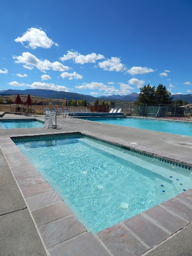 Outdoor Pool And Hot Tub At Club Meadow Ridge 11 of 14
