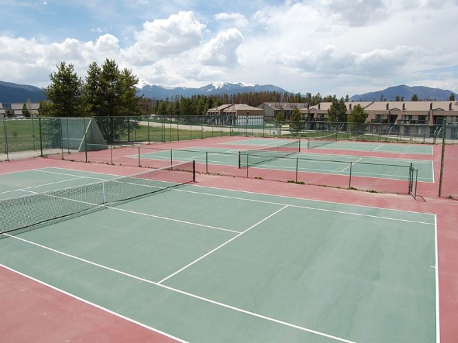Tennis Court At Club Meadow Ridge 13 of 14