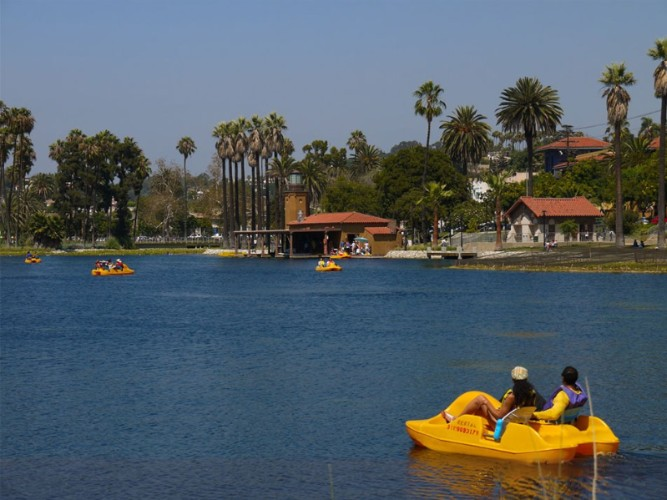 Echo Park\'s Lake: 1.2 Miles Away 21 of 23