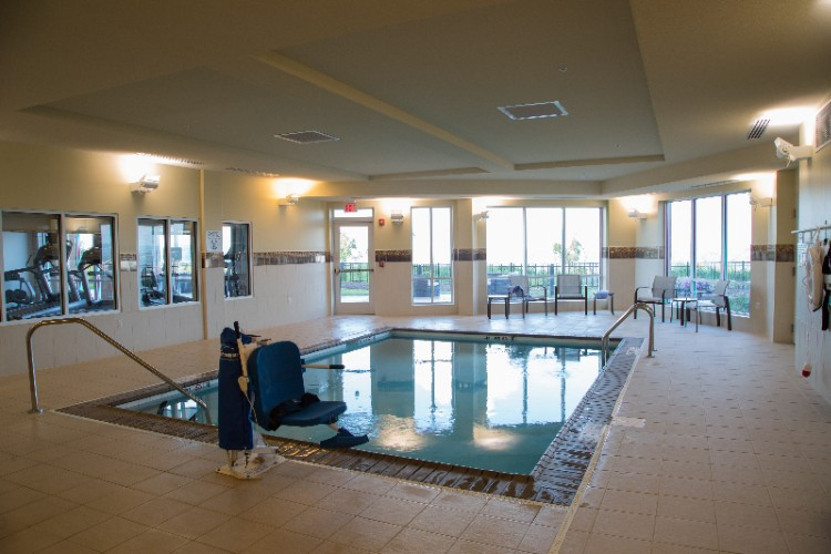 Enjoy A Relaxing Swim In Our Salt Water Indoor Pool 8 of 13