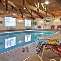 Indoor Heated Pool Hot Tub & Sauna 5 of 10