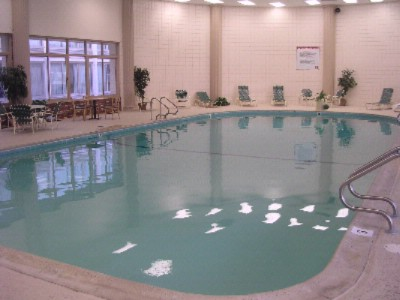 Relax In Our Indoor Swimming Pool 6 of 9