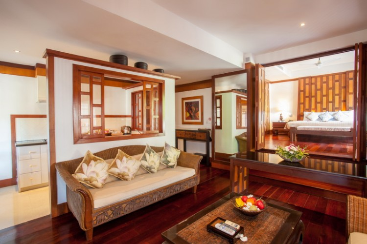 Baan Yin Dee Presidential Suite Living Room With Kitchen Net 17 of 31