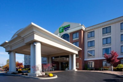 Holiday Inn Express Hotel Suites Buffalo Airport 131 Buell Ave Chewaga Ny 14225