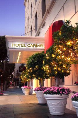 Entrance To The Hotel Carmel 6 of 6