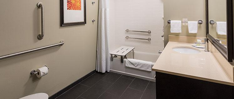 Handicap Accessible Bathroom 20 of 24