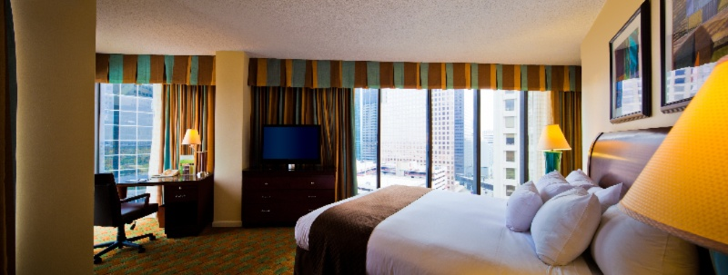 Guest Rooms Feature Floor To Ceiling Windows And Sweet Dreams Beds 4 of 7
