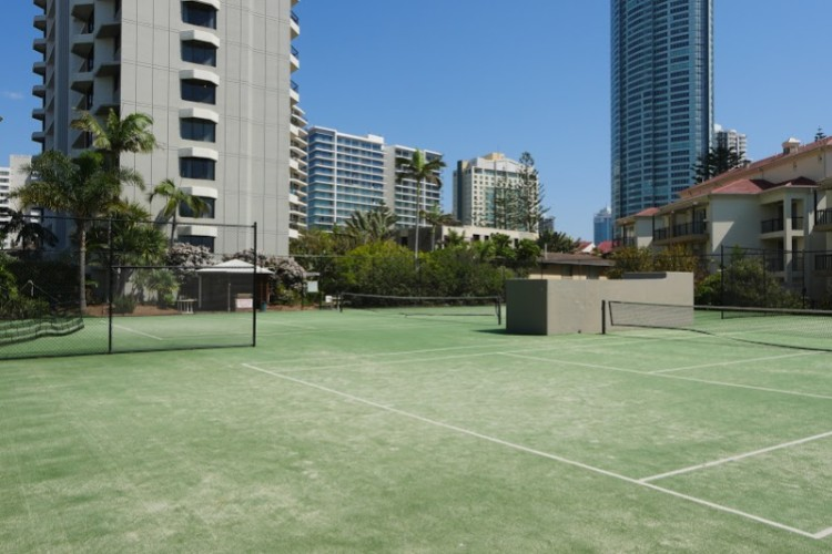 Two Full Size Tennis Courts 6 of 10
