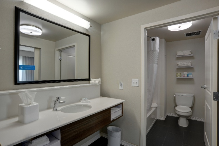 King Suite Bathroom 13 of 15