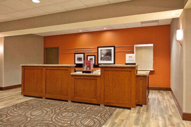 Be Welcomed To The Hampton Inn & Suites Of Bloomington With A Smile And We Are Glad You Are Here Attitude! Our Guest Assistance Agents Are Friendly Knowledgable And Willing To Assist You At Checkin During Your Stay And Even After Your Stay. 7 of 15
