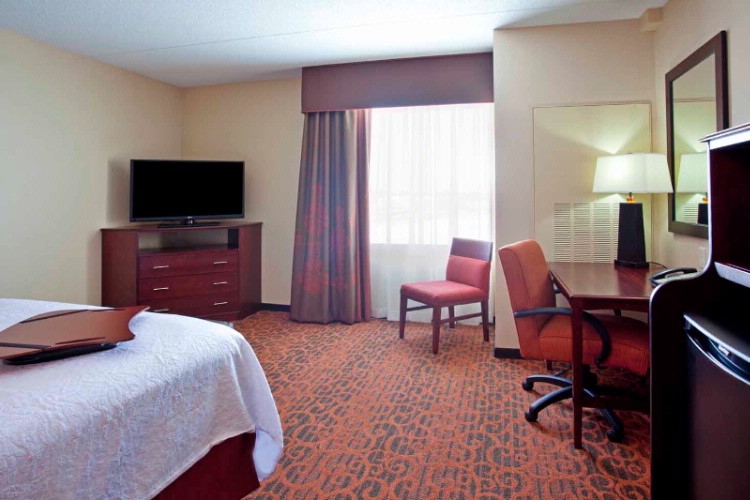 Our King Study Has A Sofa Bed Work Area Flat Screen Tv And A Comfortable Serta Mattress. 15 of 15