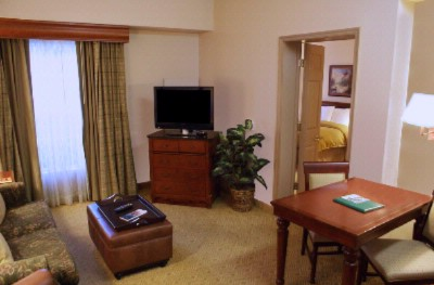 Living Area Of One Bedroom Suite 5 of 12