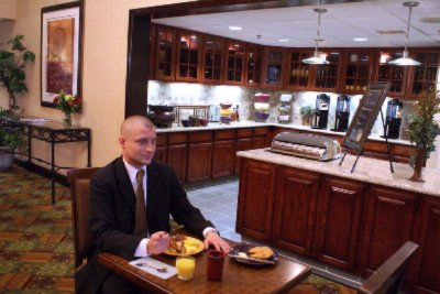 Free Hot Breakfast Served In Our Dining Room 10 of 12