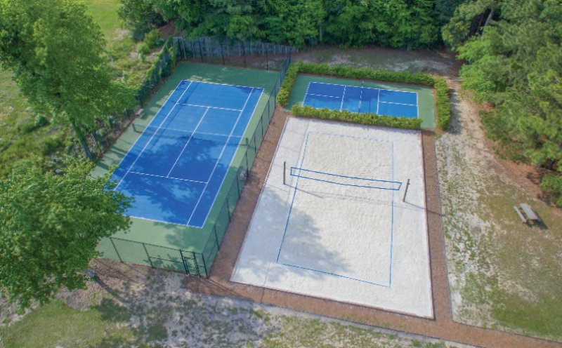 Tennis And Volleyball Courts 7 of 9