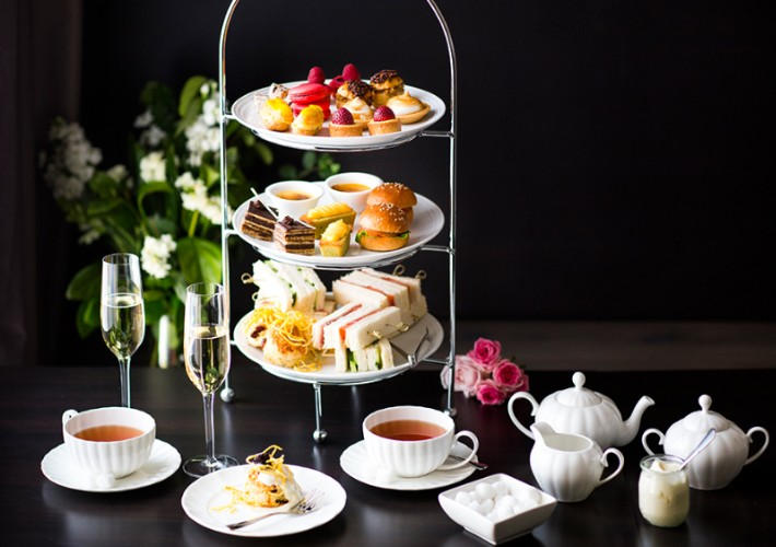 High Tea with a view  Burbury Terrace Canberra Traveller