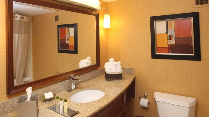 Our Bathrooms Have Large Vanity Space Combed Cotton Terry And Signature Bath Products. 7 of 12