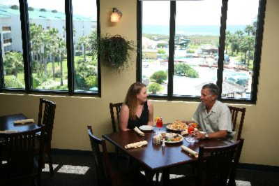 Island Style Dining With A View Of The Pool And The Gulf Of Mexico! 3 of 7