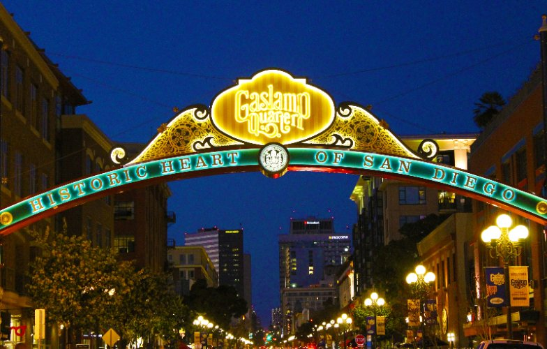 Gaslamp Quarter Archway 26 of 26
