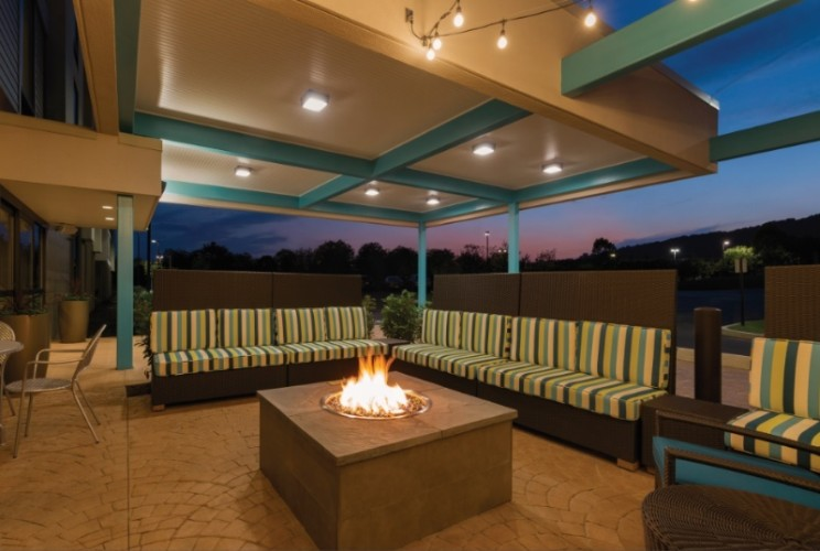 Front Patio With Fire Pit 16 of 16