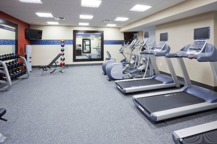 Large 24-Hr Fitness Center 8 of 8