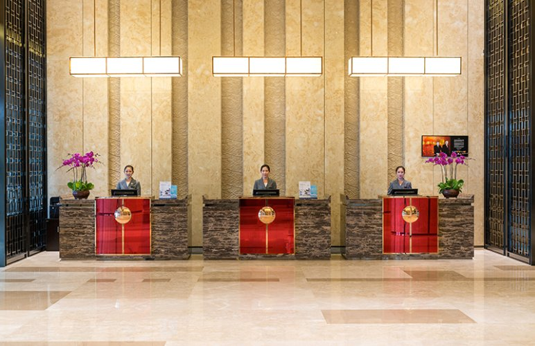 Reception Counter 4 of 28