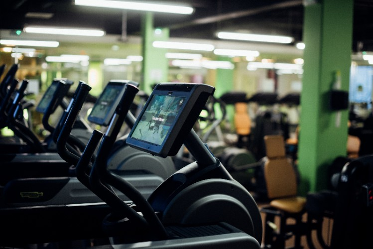 Adjoining Free Fitness Center 13 of 23