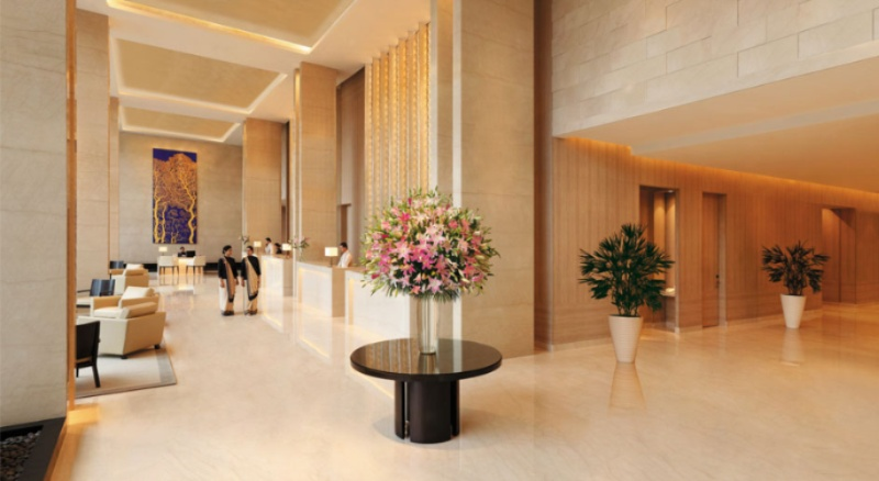 Lobby -Trident Hyderabad 3 of 13