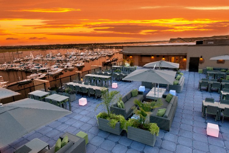 After A Full Day Of Exploring Charleston Or Working In The Area Unwind On Our Waterfront Rooftop Lounge...45 Waterside! 5 of 8