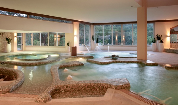 Indoor Pool With Sulphur Springs And Jets 6 of 12